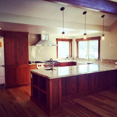 Kitchen Remodel Dark Cabinets Park City