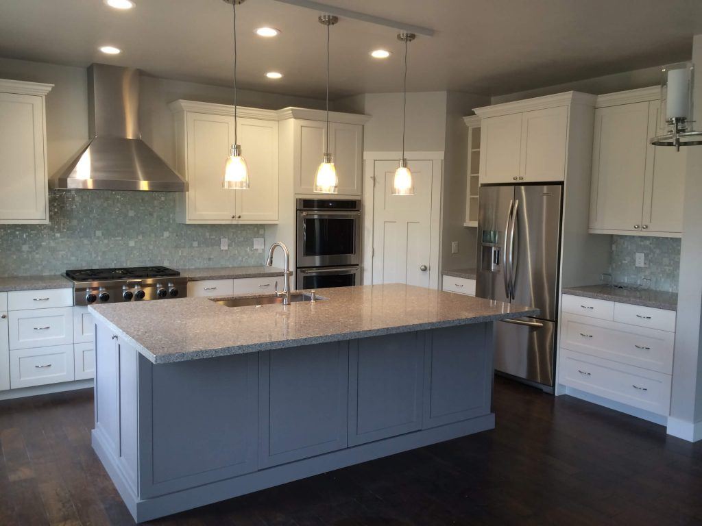 Kitchen Remodel White Cabinets Park City
