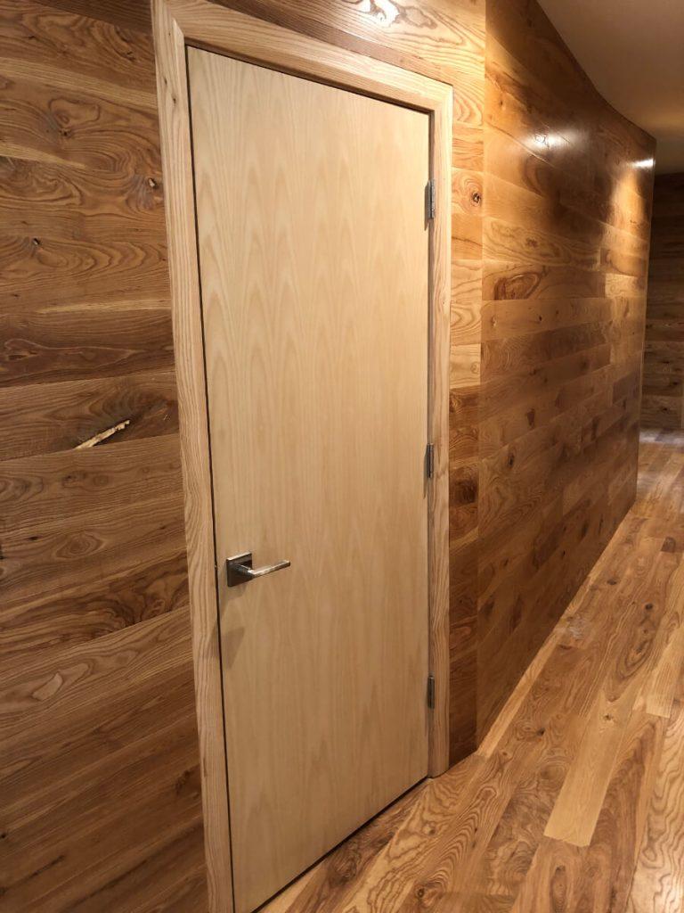 Sandy Condo Remodel Custom Ash Doors