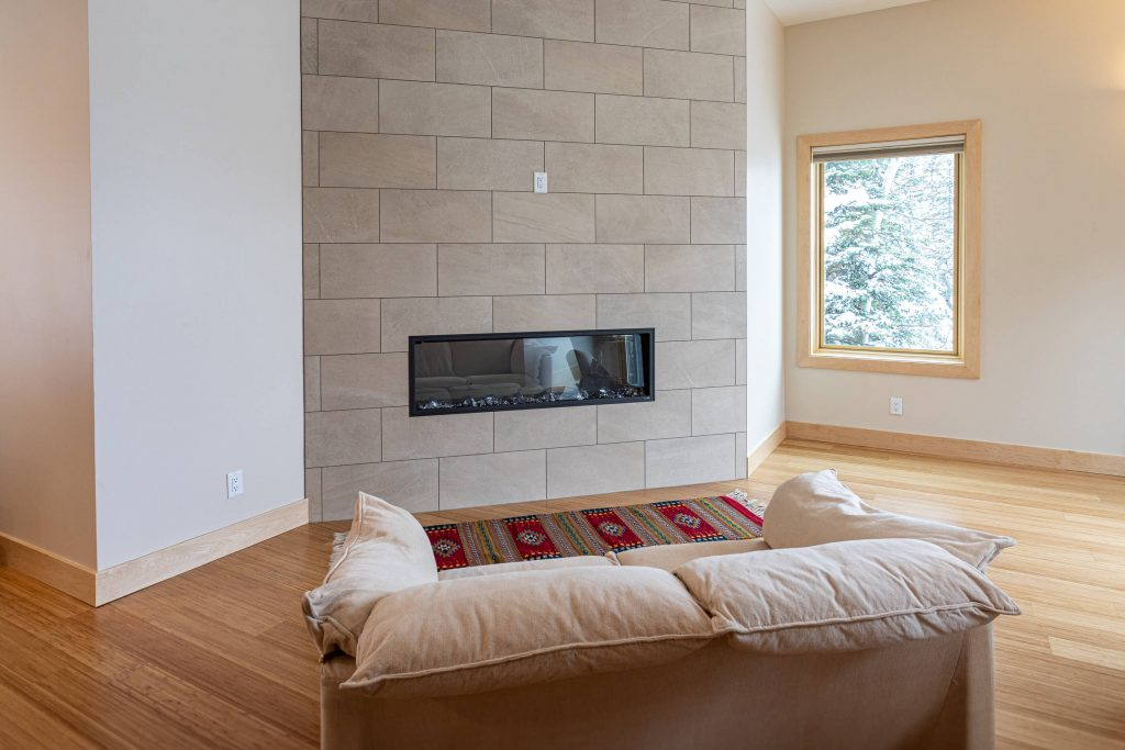 Sandy Condo Remodeler for Fireplace Seating Area