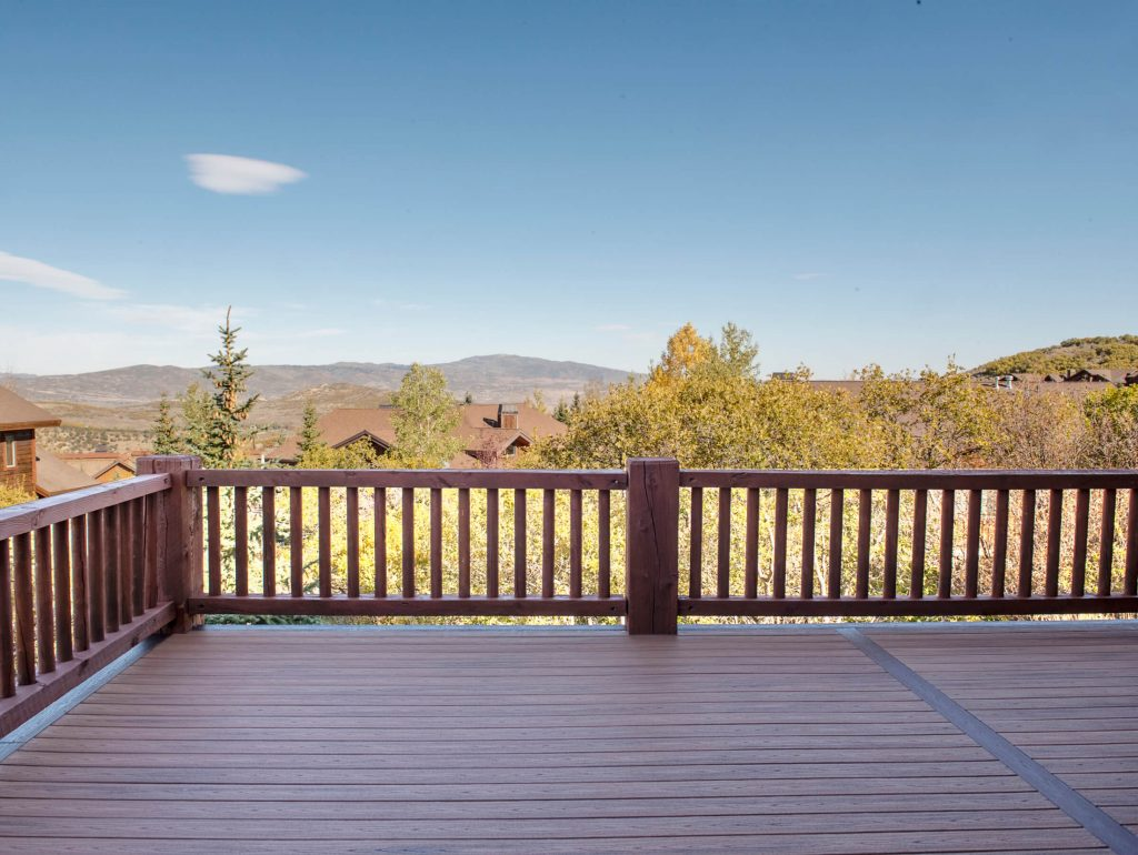 Park City Stunning View from New Deck Build