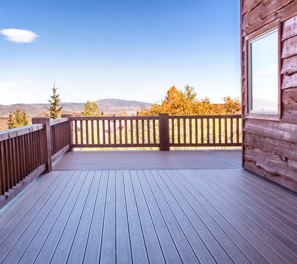 Park City New Deck Build Spectacular Views from Living Room
