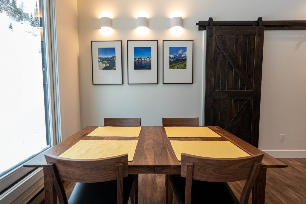 Sandy Dining Rom Renovation for Alta Condo Accent Lights