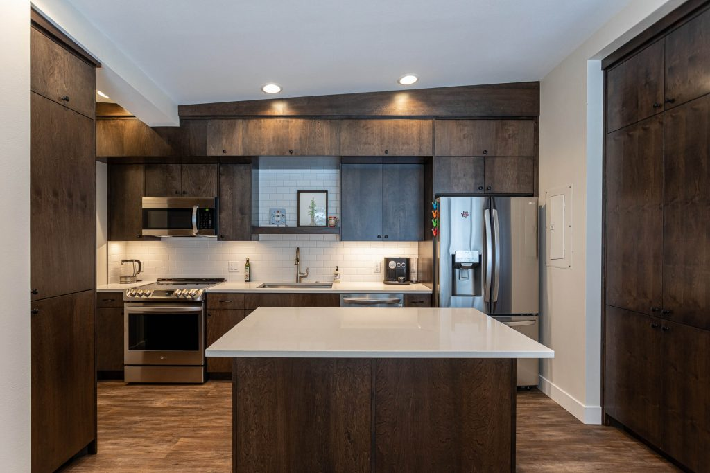 Sandy Kitchen Renovation for Alta Condo