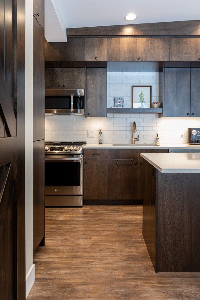 Sandy Kitchen Renovation with LVP Flooring