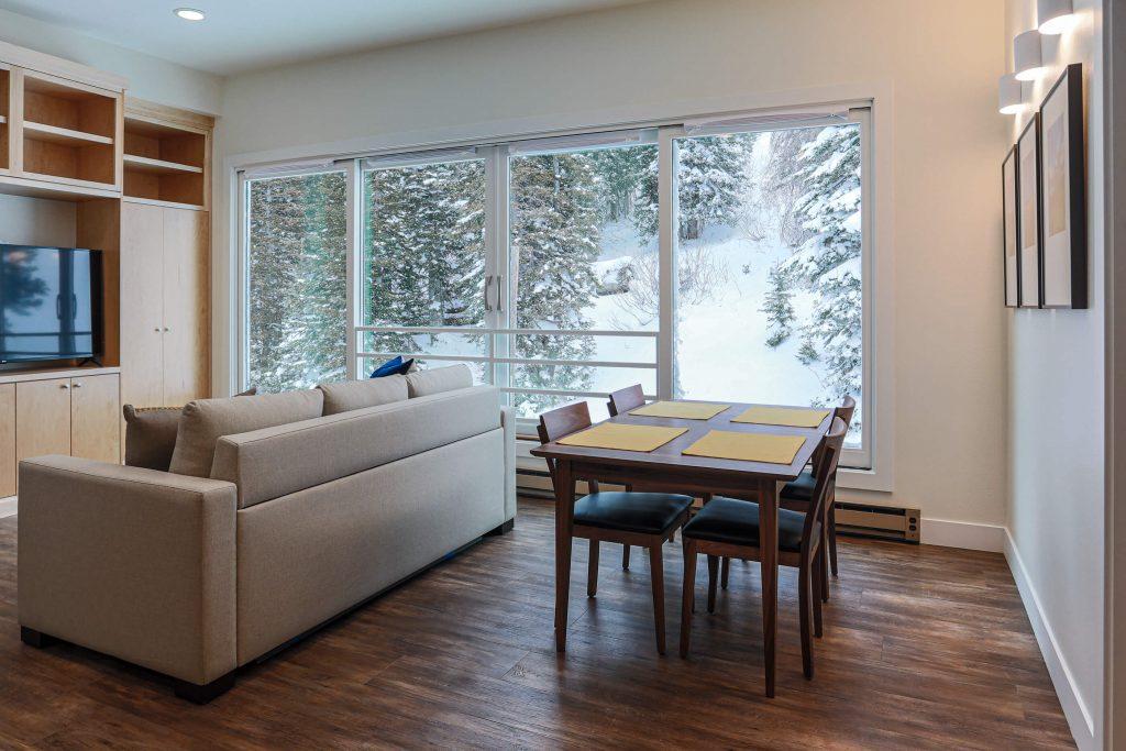 Sandy Living Rom Renovation for Alta Condo Large Window