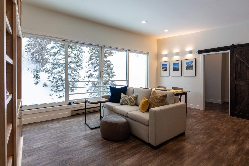 Sandy Living and Dining Renovation for Alta Condo