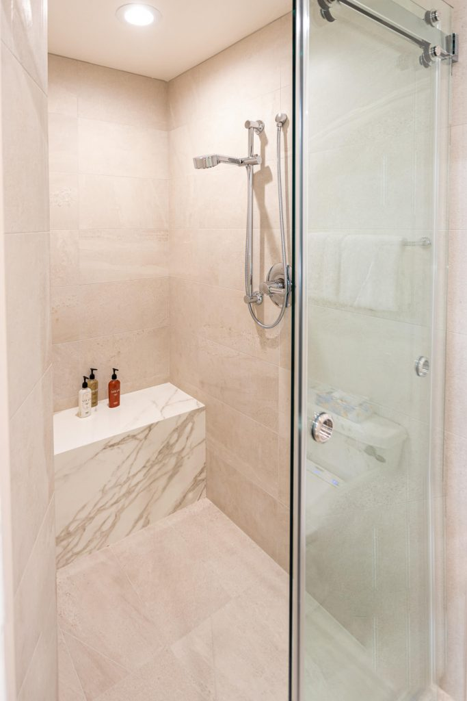 Park City Cond Master Bathroom Remodel with Shower