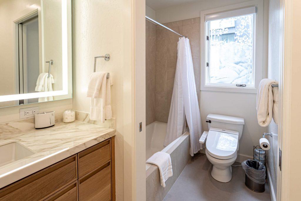 Park City Condo Guest Bathroom Room Remodel