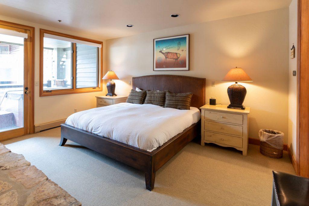 Park City Condo Master Bedroom Remodel