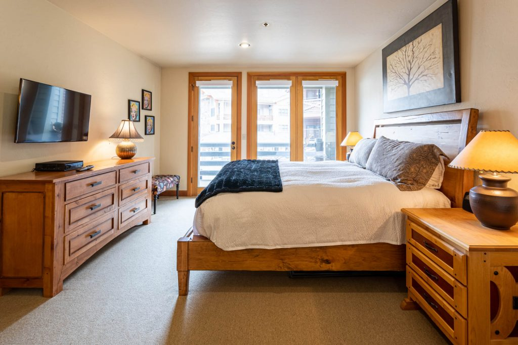 Park City Condo Remodel for Guest Room